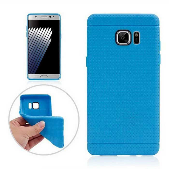 Protective TPU Back Case for Samsung Galaxy Note 7 - Sky Blue