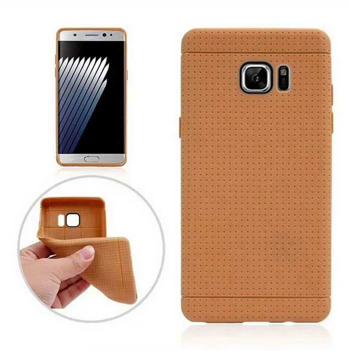 Protective TPU Back Case for Samsung Galaxy Note 7 - Brown
