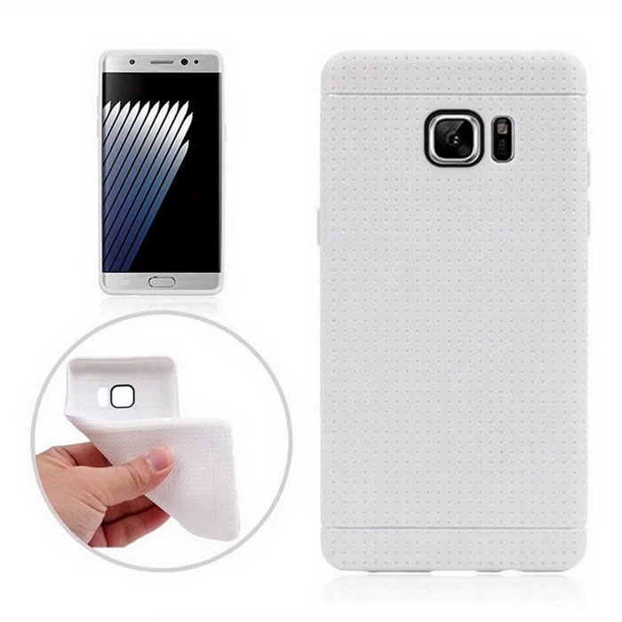 Protective TPU Back Case for Samsung Galaxy Note 7 - White