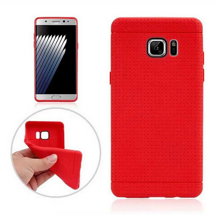Protective TPU Back Case for Samsung Galaxy Note 7 - Red