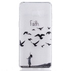 Faith Pattern TPU Protective Back Case Cover for Samsung Galaxy Note 7