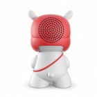 Altavoz inalámbrico original de Xiaomi Mi Rabbit Bluetooth 4.0 - Rojo + Blanco