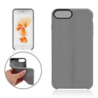 Funda protectora de TPU para IPHONE 7 PLUS - gris