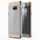 Protective PC + TPU Clear Back Cover for Samsung Galaxy Note 7 -Coffee