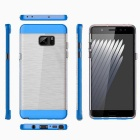 Protective PC + TPU Clear Back Cover for Samsung Galaxy Note 7 - Blue