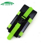 Multi-functional Sports Mobile Phones Running Armband - Black + Green