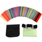 Sidande Color Filters Color Film Kit for DSLR Speedlite Flash (30PCS)