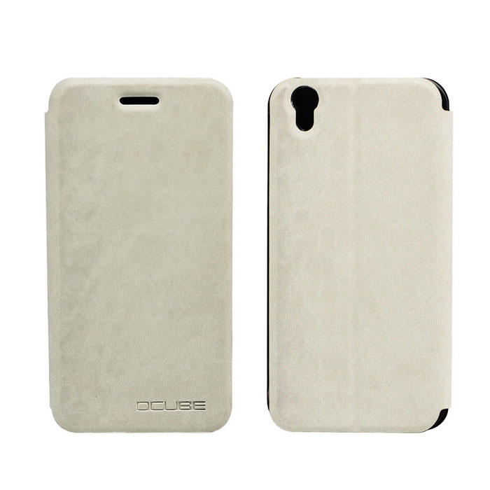 OCUBE PU Leather Case for Umi London Mobile Phone - White
