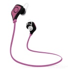 Outdoor Sports Bluetooth V4.0 In-Ear Earphone - Black + Pink