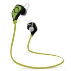 Universal 1 to 2 Flat Cable Bluetooth Earphone for Mobile Phones + More