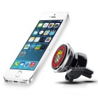Hat-Prince 360 Degree Rotable Car Air Vent Phone Mount Holder - Silver