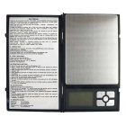 MH-1108 500g/0.01g Notebook Style Precision Electronic Scale