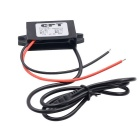 CS-483A1 12V Rotary 5V Mini Charger Car Mounted Power Converter -Black