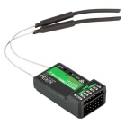 2.4G iA6B 6CH Receiver PPM Output with iBus Port - Black