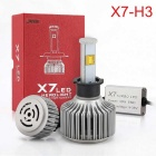 Joyshine 80W 7200lm H3 LED Car Headlight Bulbs Cool White (2PCS)