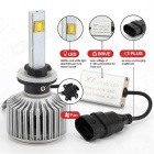 Joyshine 80W 7200lm 880(881/ H27)  LED Car Headlights Cool White(2PCS)