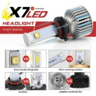 Joyshine 80W 7200lm 9005 (H10/HB3) LED Car Headlight Cold White (2PCS)