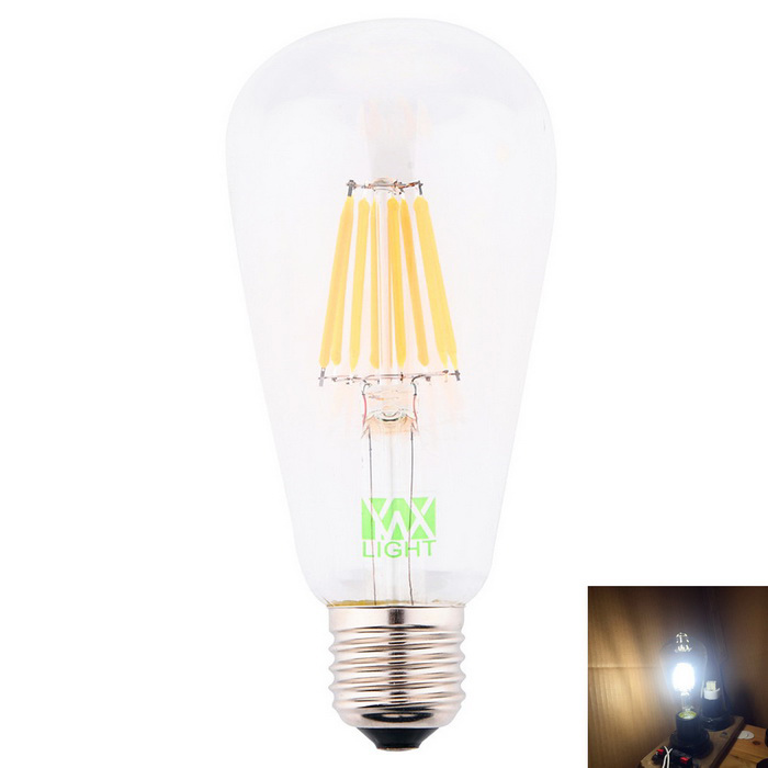 лампа накаливания E27 ywxlight 8-COB LED ST64