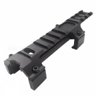 ACCU Aluminum Alloy G3 / MP5 Gun Rail Mount - Black