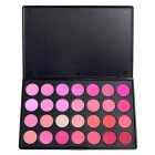 28 Colors Makeup Blush Blusher Powder Palette - Orange + Multicolor