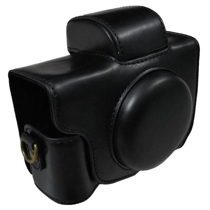 PU Leather Camera Case Bag for Canon G5X Camera - BlackBags and Cases<br>Form  ColorBlackModelG5XShade Of ColorBlackMaterialPUQuantity1 DX.PCM.Model.AttributeModel.UnitCompatible BrandCanonCompatible ModelsG5XInner Dimension11 * 8 * 5.5Dimension12 * 11 * 6 DX.PCM.Model.AttributeModel.UnitPacking List1 * Case<br>