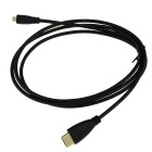 Gold Plated 1080P HDMI Male to Micro HDMI Male Shielded Connection Cable (1.5M-Length)