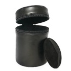 PU Leather Camera Lens Case Bag for All DSLR Lens - Black