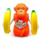 Monkey King Holding Two Bananas Music Movement Electric Toy for Kids