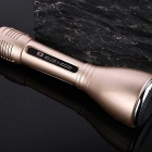 Mobile Phone Bluetooth Karaoke Sing Microphone - Gold