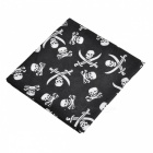 Skull Pattern Scarf Headband Veil Headwear Mask for Cycling - Black