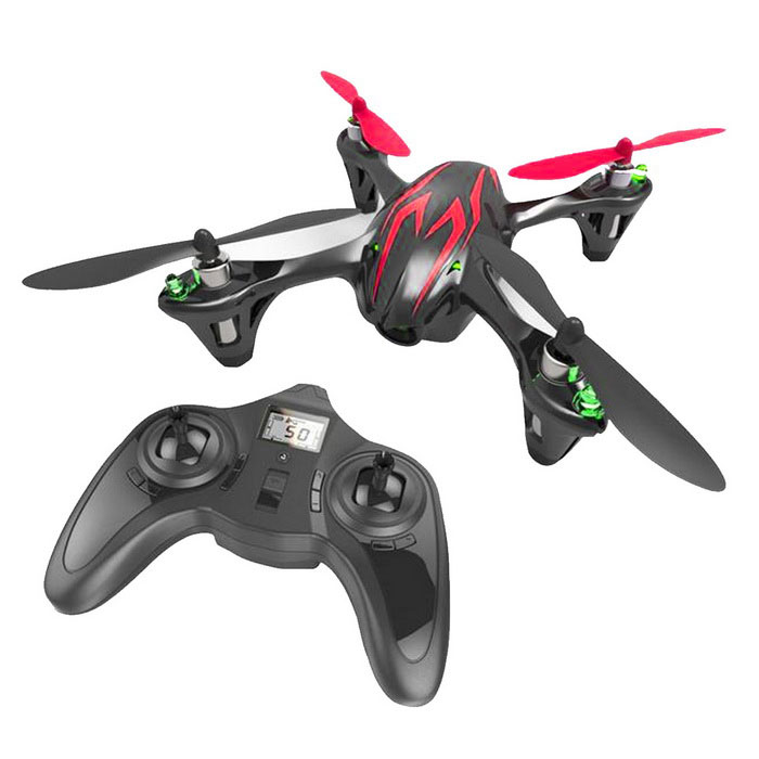 HD Mini Aerial Remote Control Aircraft Quadcopter - Black + Red