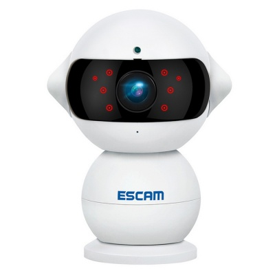 Telecamera ESCAM QF200 960P mini robot 1.3MP wifi AP IR IP (spina AU)