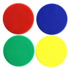 CT-368 Circular Refrigerator Magnets - Green (6PCS)