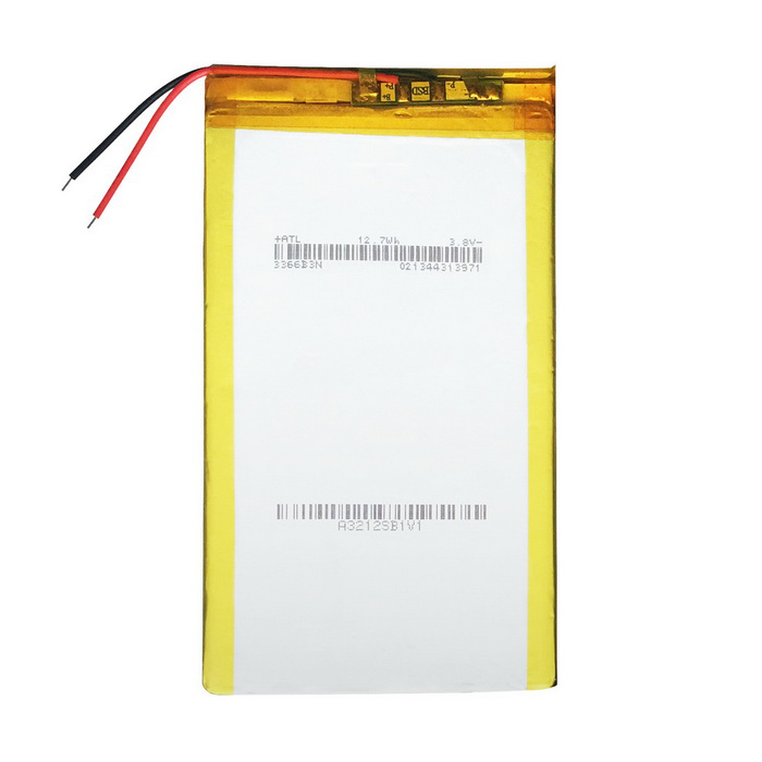 Replacement 3.8V 12.7Wh Battery for 7-9 inch Tablet PC - Silver
