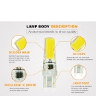 JRLED G9 5W 24-COB blanc froid ampoules LED (ac 220V / 5PCS)