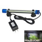 Jiawen 20 centímetros 1W Cold White 18-LED Aquarium Light (US Plugs)