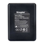 Kingma Battery Charger Set for Xiaomi Xiaoyi 2 4K and AZ16-1 - Black