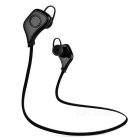 Outdoor Sports Bluetooth V4.0 In-Ear Earphone - Black