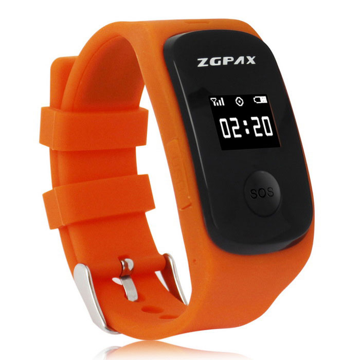 ZGPAX S22 SOS Kids GPS Tracking Phone Tracking Online Watch - OrangeChildren Watches<br>Form ColorOrangeModelS22Quantity1 DX.PCM.Model.AttributeModel.UnitShade Of ColorOrangeCasing MaterialSiliconeWristband MaterialSiliconeSuitable forChildrenGenderUnisexStyleWrist WatchTypeSports watchesDisplayDigitalBacklightYesMovementOthers,MTK6260Display Format12 hour formatWater ResistantNODial Diameter1.1 DX.PCM.Model.AttributeModel.UnitDial Thickness1.1 DX.PCM.Model.AttributeModel.UnitBand Width1.9 DX.PCM.Model.AttributeModel.UnitWristband Length17 DX.PCM.Model.AttributeModel.UnitBattery1 * 370mAh batteryOther FeaturesCPUMTK6260 364MHz<br>GPS: MTK3337<br>Computer terminal and Android APPPacking List1 * Watch1 * USB cable (70cm)1 * English user manual<br>