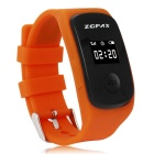Outdoor Sports Silicone Band Digital Wrist Watch w/ GPS Tracking, Remote Monitoring, SOS