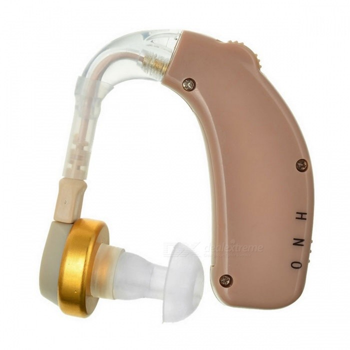 BSTUO Rechargeable BTE Earhook Hearing Aid Personal Sound AmplifierHearing Aids<br>Form  ColorBrownMaterialABSQuantity1 DX.PCM.Model.AttributeModel.UnitShade Of ColorBrownEar CouplingEar-hookSensitivity30dBTHDMaximum Loudness130±5dBCable Length0 DX.PCM.Model.AttributeModel.UnitFrequency Response300Hz~4000HzBattery included or notYesPower SupplyOthers,Built-in battery 55mAhBattery Number0Working Voltage   3.7 DX.PCM.Model.AttributeModel.UnitWorking Current4 DX.PCM.Model.AttributeModel.UnitForm  ColorBrownPacking List1 * Hearing aid1 * 100~300V EU plug power adapter1 * Power cable (114+/-2cm)1 * English user manual4 * Earbuds<br>