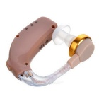 BSTUO Rechargeable BTE Earhook Hearing Aid Personal Sound Amplifier