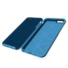 2-in-1 Protective Silicone Back Case for IPHONE 6 PLUS - Blue