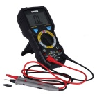BSIDE ADM08A 6000 Counts True RMS Digital Multimeter - Black + Red