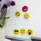 CT-6652 Facial Expression Fridge Magnetic Whiteboards - Multicolor