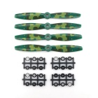 JJRC JJPRO-6040BN Camouflage To-blad propeller Kit - Colormix