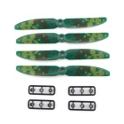 JJRC JJPRO-5030 Camouflage Two-blade Propellers Kit - Colormix