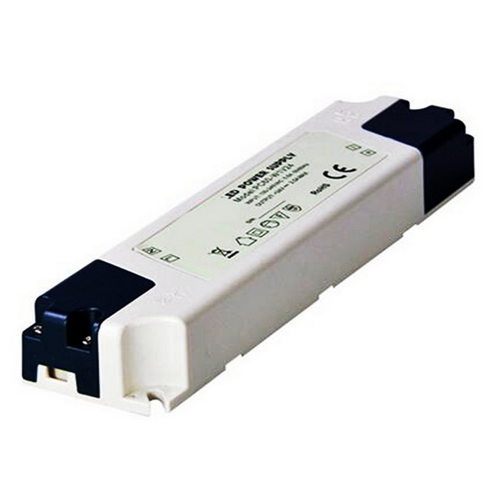 60W 24V 2.5A Switching Power Supply Driver for LED Strip Light - White