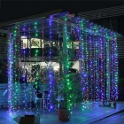 19.6ft * 9.8ft Colorful 600-LED Decorative Window Curtain Lamps (220V)