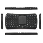 Bluetooth V3.0 smart touch teclado / ar mouse w / USB 2.0 - preto
